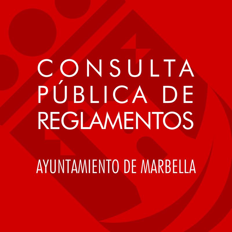 Consultas Públicas de Reglamentos